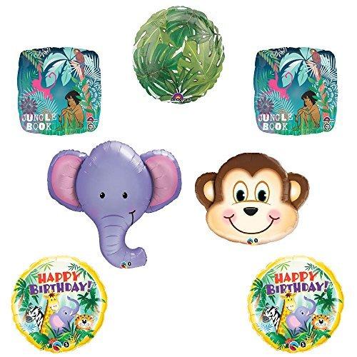 The Jungle Book Elephant Monkey Birthday balloon decoration supplies