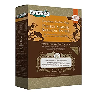 Addiction Grain Free Dehydrated Dog Food Brushtail