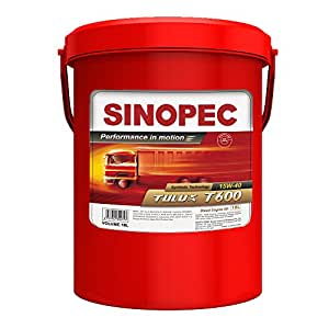 Sinopec 15W40 Synthetic Diesel Engine Oil, 5 Gallon
