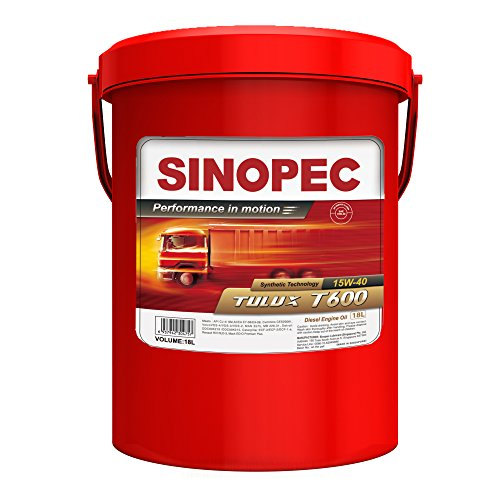 Mack Diesel Engine - Sinopec 15W40 CJ-4 Syn Diesel Engine Oil, 5 Gallon