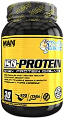 ISO-PROTEIN contains 25 grams of super-premium Whey Protein Isolate in an instantized powder for easy mixability with OUT OF THIS WORLD TASTE! During manufacturing, proprietary membrane techniques are used to yield a highly pure, nutritionall...
