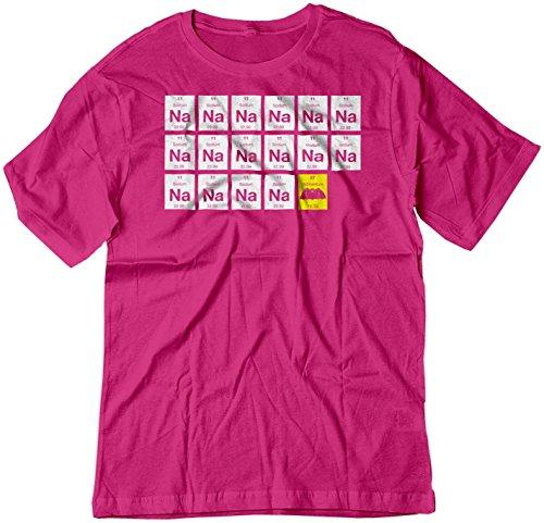 Wrls Mobile - BSW Men's Na Na Na Na.Batman! 1966 Original Theme Song Shirt LRG Raspberry