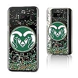 Keyscaper NCAA Colorado State Rams KCLR8P-0CSU-FETTI1 Samsung Galaxy Clear Case, Galaxy 8+, Clear