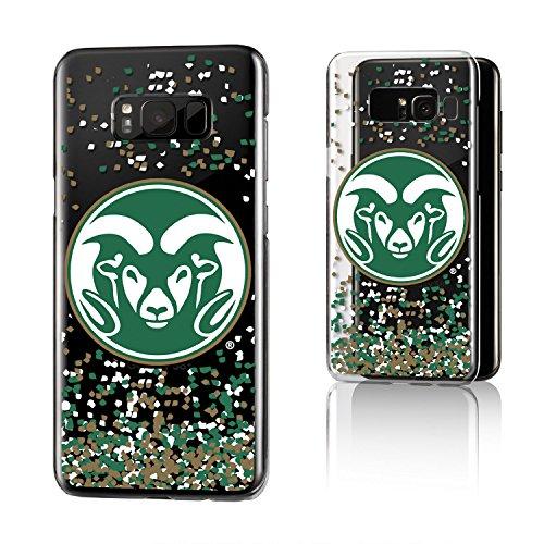Keyscaper NCAA Colorado State Rams KCLR8P-0CSU-FETTI1 Samsung Galaxy Clear Case, Galaxy 8+, Clear by Keyscaper