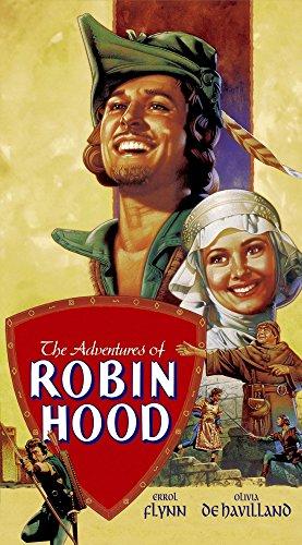 Posterazzi The Adventures of Robin Hood Errol Flynn Olivia De Havilland 1938 Movie Masterprint Poster Print (24 x 36) Varies