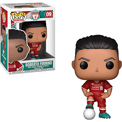 Funko- Pop Vinyl EPL Liverpool Roberto Firmino Collectible Figure, Multicolor (29216)