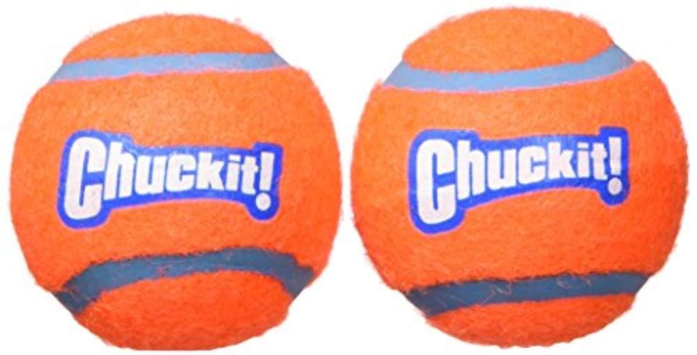 Chuckit Tennis Ball pour Chien 2 Pièces 5 cm Taille S LOS BRAVOS 071021