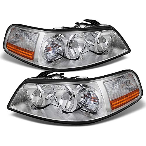 - ACANII - For 2005-2011 Lincoln Town Car [OE Factory Style] Headlights Headlamps Replacement Pair Driver + Passenger Side