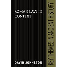 Roman Law in Context