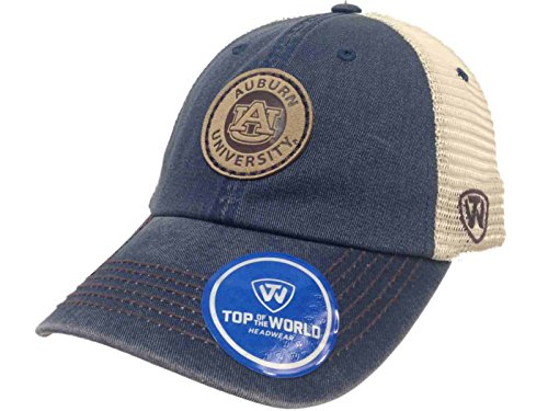 - Top of the World Auburn Tigers Tow Navy Outlander Mesh Adjustable Snapback Slouch Hat Cap