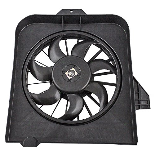 (Drivers Radiator Cooling Fan Assembly Replacement for Dodge Caravan & Grand Caravan Chrysler Town & Country 4809171AE)