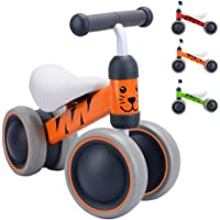 BOLDCUBE My First Bike - Baby Walker Balance Bike - Baby and Toddler Ride On Bike - Trike for Ages 6-24 Months, 1+ Years