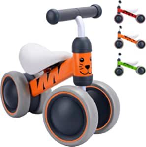 BOLDCUBE My First Bike - Baby Walker Balance Bike - Baby and Toddler Ride On Bike - Trike for Ages 10-24 Months, 1-2 Years