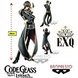 Code Geass Lelouch Of The Rebellion Exq - Lelouch Lamperouge - Ref: 28998/28999 Bandai Banpresto/