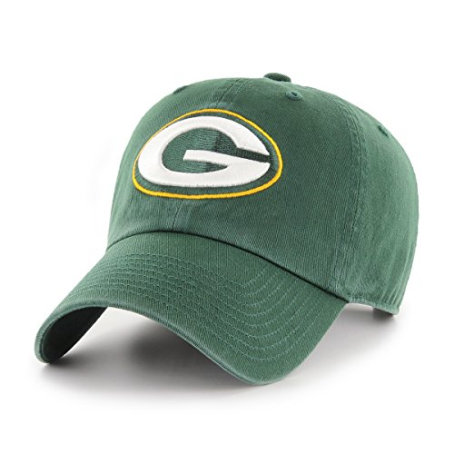 OTS NFL Green Bay Packers Women's Challenger Clean Up Adjustable Hat, Dark Green (Green Bay Packers Apparel)