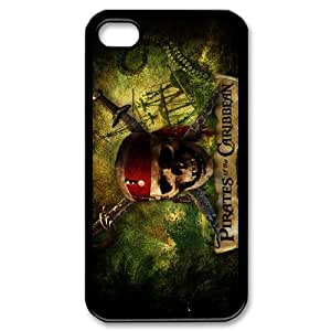 Pirates of the Caribbean For iPhone 4,4S Csae protection phone Case ST124421