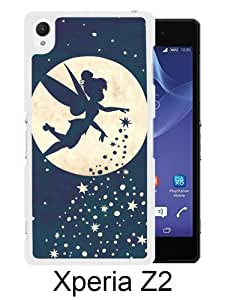 Forever Young Tinkerbell White Sony Xperia Z2 Screen Phone Case Durable and DIY Cover