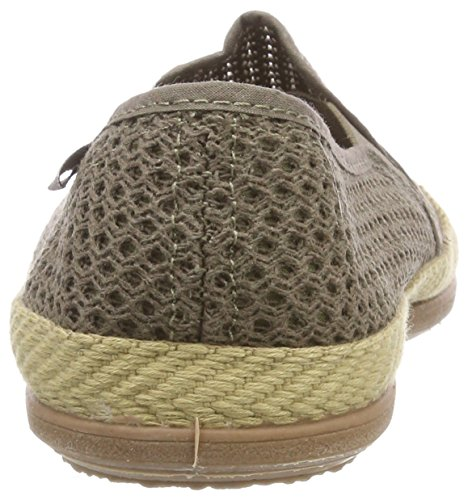 By Taupe Blue 5 Rejilla Adultos deporte Wamba 'Elásticos Natural Zapatillas de Victoria Unisex 7fA7t