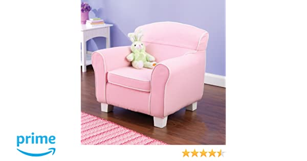Charmant Amazon.com: KidKraft Laguna Chair With Pink Piping And Slip Cover: Toys U0026  Games