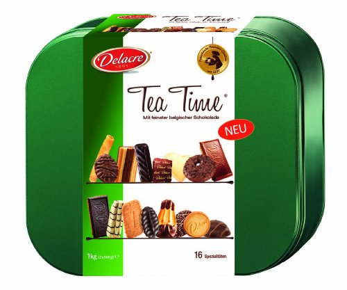 Delacre Tea Time 1000 g Dose, 1er Pack (1 x 1 kg)