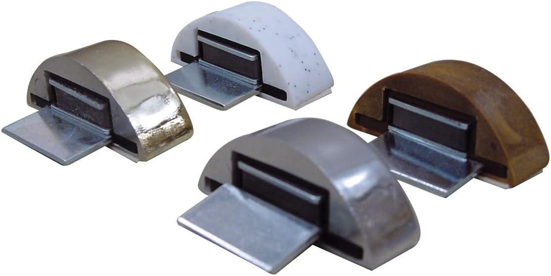 Fermaporta Autoadesivo Magnetico colore Legno in Blister da 2 pz