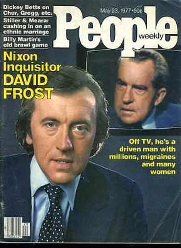 - David Frost Dickey Betts 3 Page Article Inside 1977 People Magazine