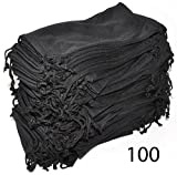 Wholesale Glasses Pouches Cleaning Case Bag Black 100 PCS