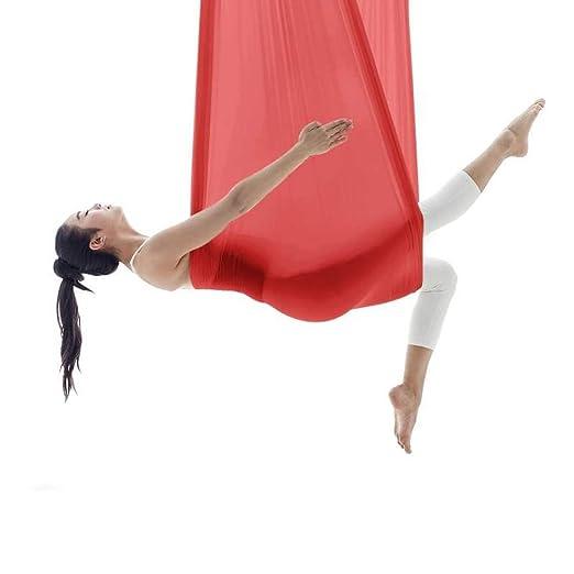 NFNFUNNM Hamaca De Yoga Aérea Hamaca De Yoga para Adelgazar ...