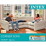 "Intex Inflatable Corner Sofa, 101"" X 80"" X"