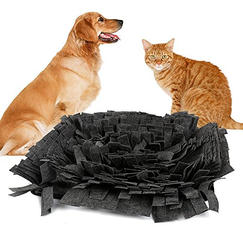 Pet Snuffle Mat Feeding Mat for Dogs Encourages Natural Foraging Skills Nosework Blanket Dog Training Mats Durable and Machine Washable Dogs Puzzle Toys by DogLemi (Image #10)