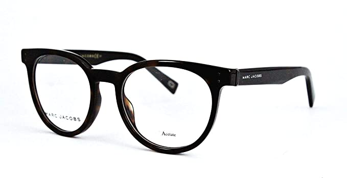 91098e1fa1f Image Unavailable. Image not available for. Color  Marc Jacobs Marc 126  0ZY1 Havana Medium Eyeglasses