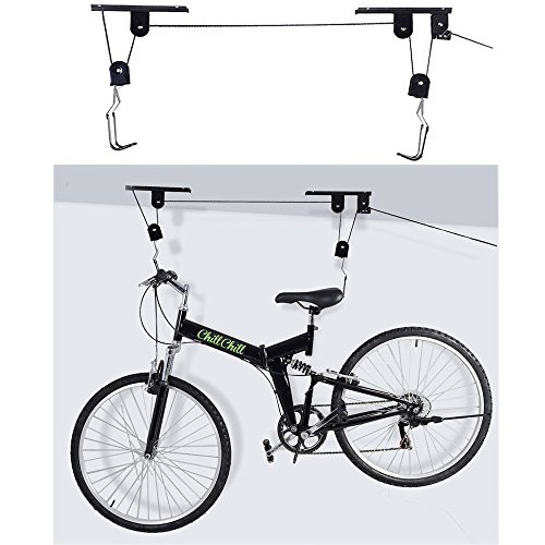 bike-bicycle-lift-rack-ceiling-mounted-hoist-storage-garage-hanger
