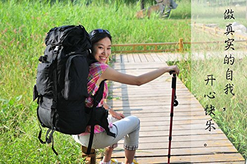 BUSL bolso que sube al aire libre 65L mochila de gran capacidad mochila bolsa de equipaje . c a