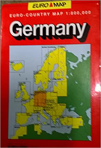 Germany: Euro Cart - Country Map: 9780841605541: Amazon.com ... on