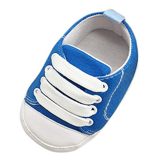 Etrack-Online Baby Sneakers - Zapatos primeros pasos para niño Azul