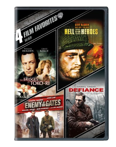 4 Film Favorites: War (The Bridges At Toko-Ri, Hell is for Hero