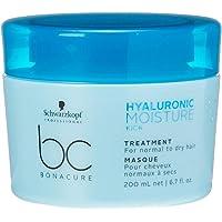 Bc Bonacure Hyaluronic Moisture Kick Tratamento 200Ml, Schwarzkopf Professional