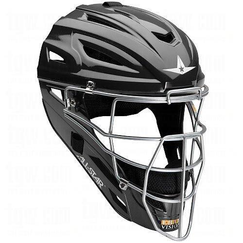(All-Star System Seven Youth Catcher's Helmet MVP2510 (Black))
