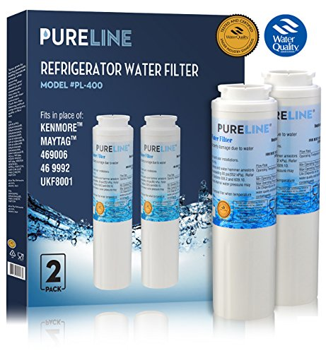 Maytag UKF8001 PUR Fast Flow Water Filter Replacement UKF8001AXX, EDR4RXD1, Whirlpool 4396395, Puriclean II, Kenmore 9006 By Pure Line (2)