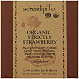 SerendipiTea Organic Tea Strictly Strawberry, 20 Count (Pack of 8)