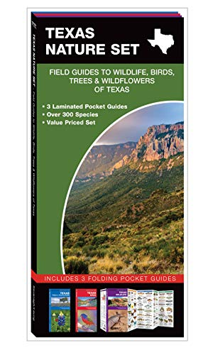 Texas Nature Set: Field Guides to Wildlife, Birds, Trees & Wildflowers of -