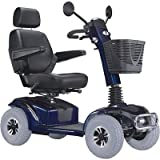 """Mirage K Electric 4 Wheel Power Scooter with 20"""" Captain Seat Top Speed 7.5 MPH Warranty: None"""