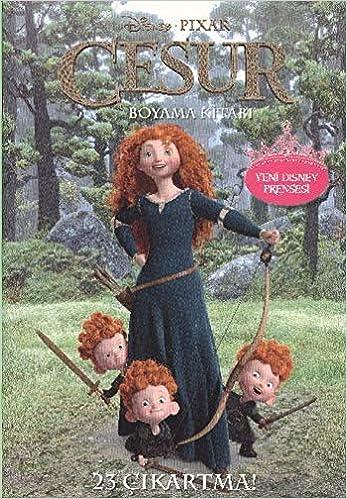 Cesur Boyama Kitabi Yeni Disney Prensesi 9786050909647 Amazon