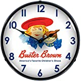Buster Brown Lighted Wall Clock