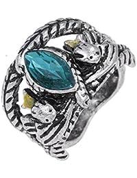 Vintage Aragon's Ring Barahir Leopard Lotr Finger Ring (rg001819)