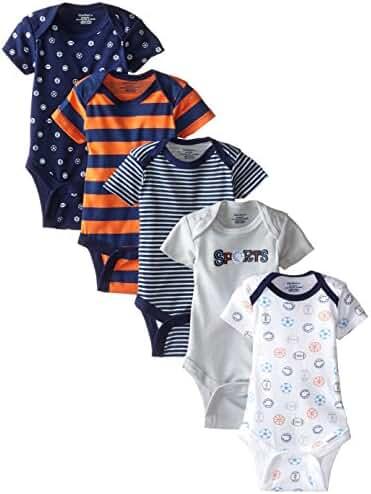 Gerber Baby Boys' 4 Pack Onesies