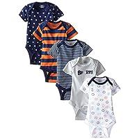 Gerber Baby-Boys Variety Onesies Brand Bodysuits, Sports, 0-3 Months (Pack of...