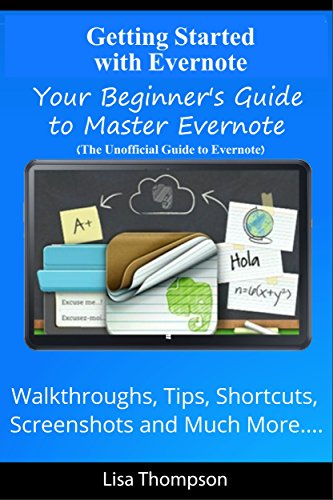 Getting Started Evernote Walkthroughs Screenshots ebook product image