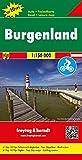 Freytag Berndt Autokarten, Burgenland, Top 10 Tips, Autokarte 1:150.000 (Freytag und Berndt Auto-Rad-Freizeitkarten (OER))
