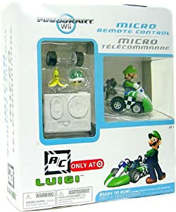 Mario Kart Wii Exclusive Micro Remote Control Luigi